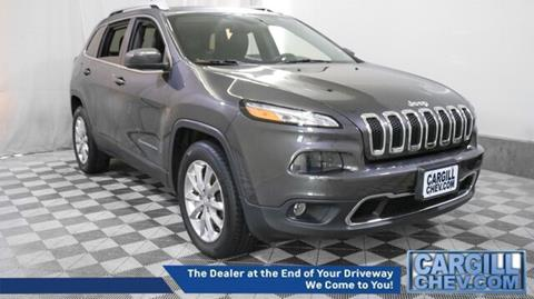 2016 Jeep Cherokee for sale in Putnam, CT