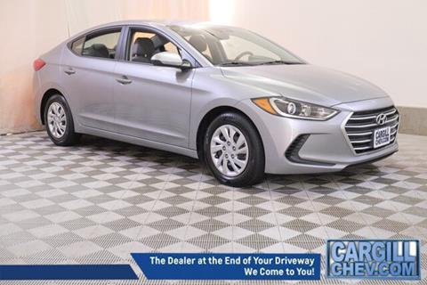 2017 Hyundai Elantra for sale in Putnam, CT