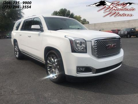 2015 GMC Yukon XL for sale in Elko, NV