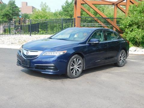 2016 Acura TLX for sale in Ypsilanti, MI