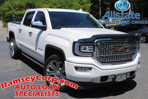 2018 GMC Sierra 1500 for sale at Ramsey Corp. in West Milford NJ