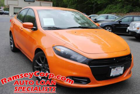 2013 Dodge Dart for sale at Ramsey Corp. in West Milford NJ