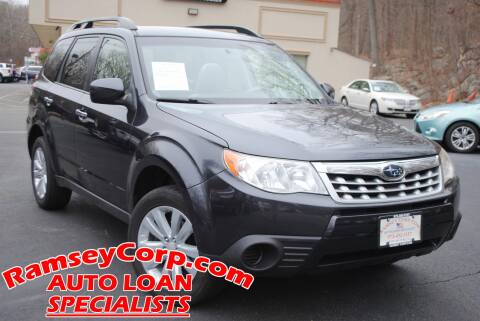 2012 Subaru Forester 2.5X Premium for sale at Ramsey Corp. in West Milford NJ