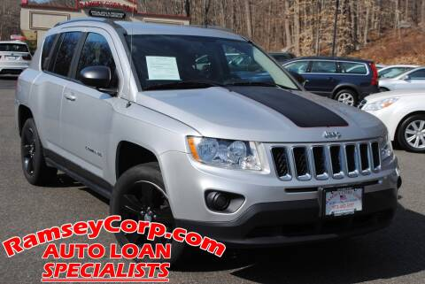 2012 Jeep Compass Sport for sale at Ramsey Corp. in West Milford NJ