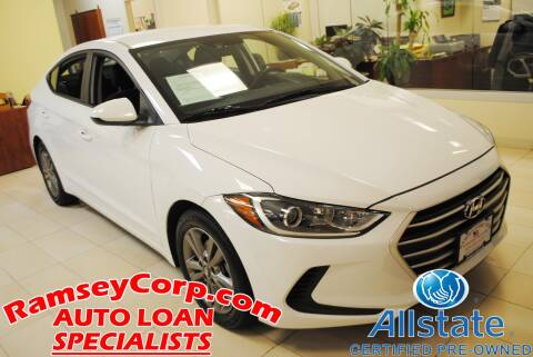 2018 Hyundai Elantra for sale at Ramsey Corp. in West Milford NJ