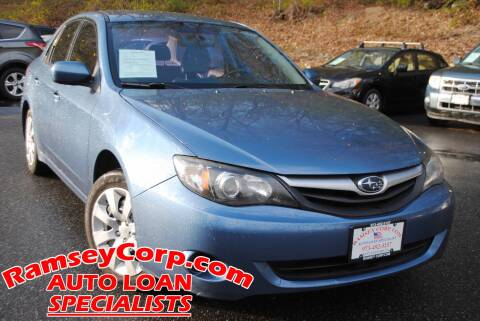 2010 Subaru Impreza for sale at Ramsey Corp. in West Milford NJ