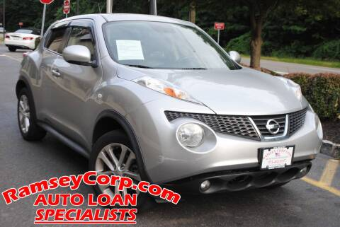 2012 Nissan JUKE for sale at Ramsey Corp. in West Milford NJ