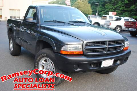 2003 Dodge Dakota for sale at Ramsey Corp. in West Milford NJ