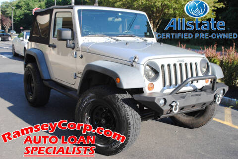 2011 Jeep Wrangler for sale at Ramsey Corp. in West Milford NJ