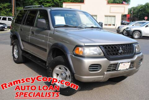 2002 Mitsubishi Montero Sport for sale at Ramsey Corp. in West Milford NJ