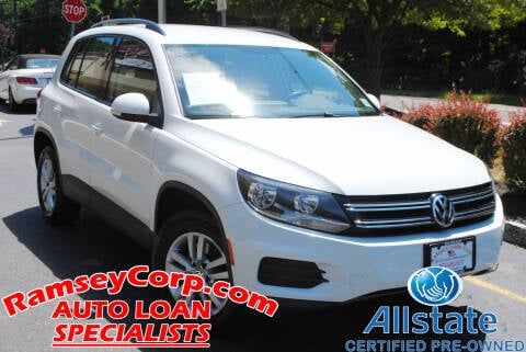 2016 Volkswagen Tiguan for sale at Ramsey Corp. in West Milford NJ