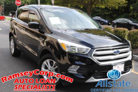 2017 Ford Escape for sale at Ramsey Corp. in West Milford NJ