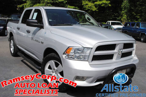 2012 RAM Ram Pickup 1500 for sale at Ramsey Corp. in West Milford NJ