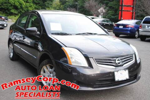 2010 Nissan Sentra for sale at Ramsey Corp. in West Milford NJ