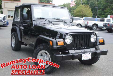 2006 Jeep Wrangler for sale at Ramsey Corp. in West Milford NJ