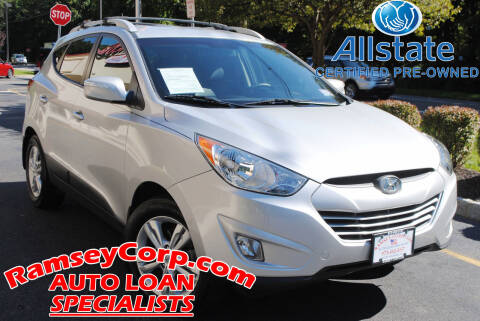 2013 Hyundai Tucson for sale at Ramsey Corp. in West Milford NJ
