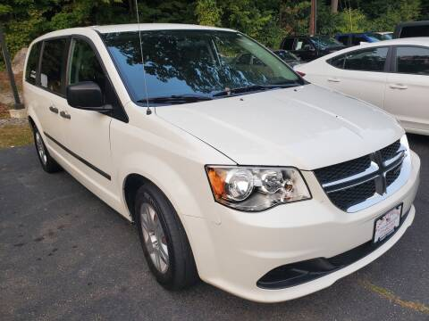 2013 Dodge Grand Caravan for sale at Ramsey Corp. in West Milford NJ
