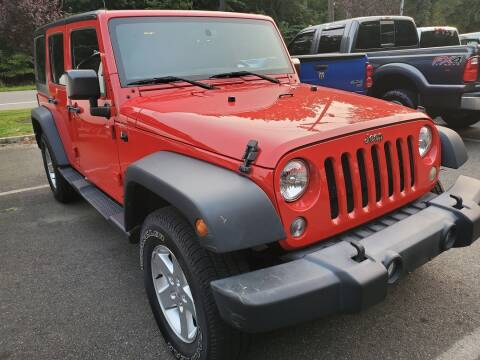 2016 Jeep Wrangler Unlimited for sale at Ramsey Corp. in West Milford NJ