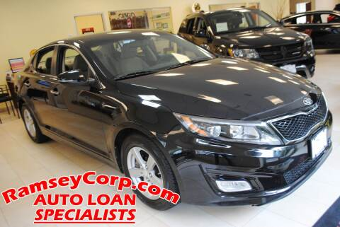 2014 Kia Optima for sale at Ramsey Corp. in West Milford NJ