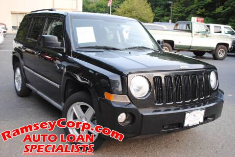 2010 Jeep Patriot for sale at Ramsey Corp. in West Milford NJ