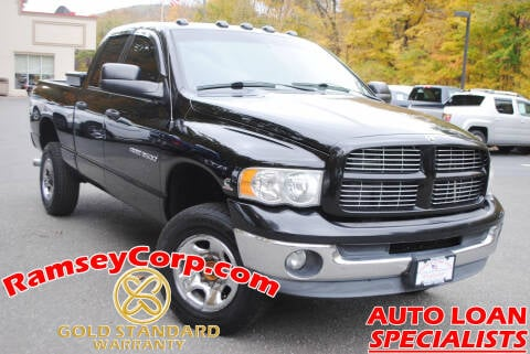 2005 Dodge Ram Pickup 3500 for sale at Ramsey Corp. in West Milford NJ