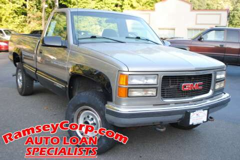 1998 GMC Sierra 2500 for sale at Ramsey Corp. in West Milford NJ