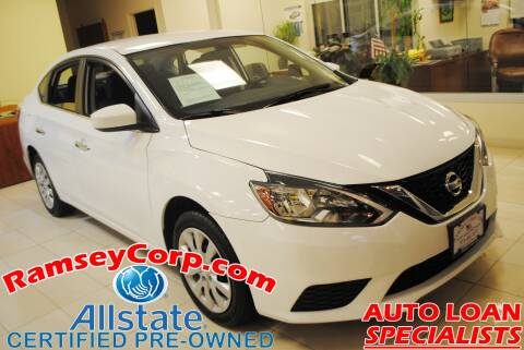 2018 Nissan Sentra for sale at Ramsey Corp. in West Milford NJ