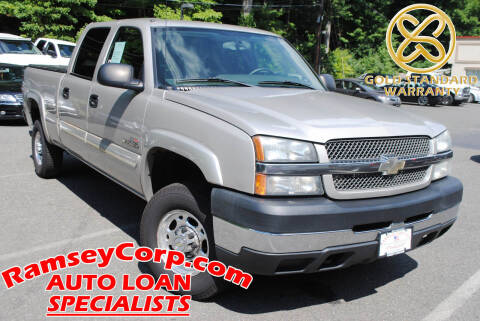 2004 Chevrolet Silverado 2500HD for sale at Ramsey Corp. in West Milford NJ