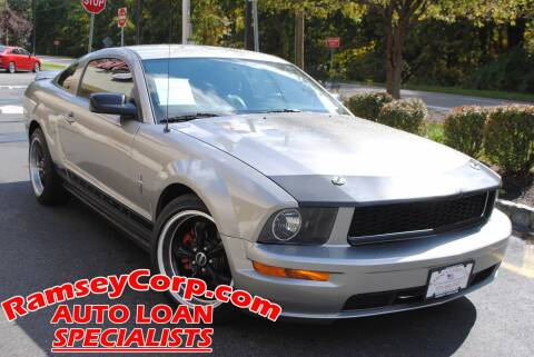 2008 Ford Mustang for sale at Ramsey Corp. in West Milford NJ