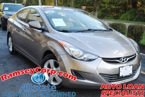 2013 Hyundai Elantra for sale at Ramsey Corp. in West Milford NJ