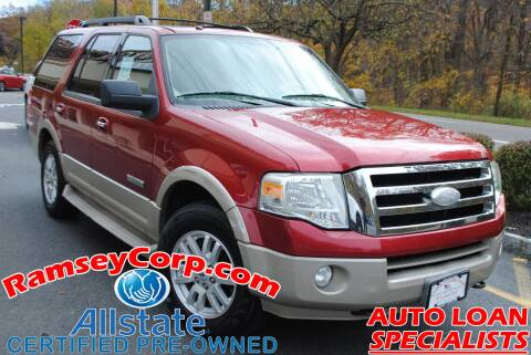 2008 Ford Expedition for sale at Ramsey Corp. in West Milford NJ