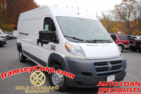 2015 RAM ProMaster Cargo for sale at Ramsey Corp. in West Milford NJ