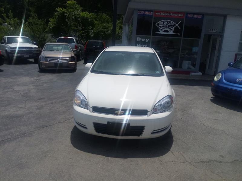 2008 Chevrolet Impala for sale at SHARP CARS ROANOKE in Roanoke VA