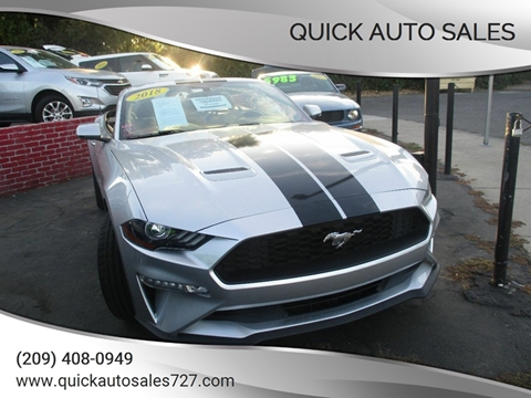 Ford Dealership Modesto >> Ford Mustang For Sale In Modesto Ca Quick Auto Sales