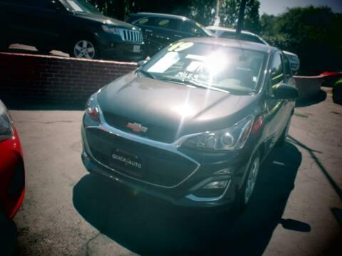 2019 Chevrolet Spark for sale at Quick Auto Sales in Modesto CA