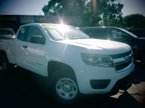 2015 Chevrolet Colorado for sale at Quick Auto Sales in Modesto CA