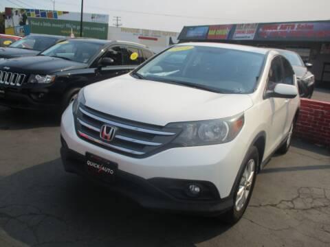 2014 Honda CR-V for sale at Quick Auto Sales in Modesto CA