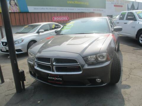 2014 Dodge Charger for sale at Quick Auto Sales in Modesto CA