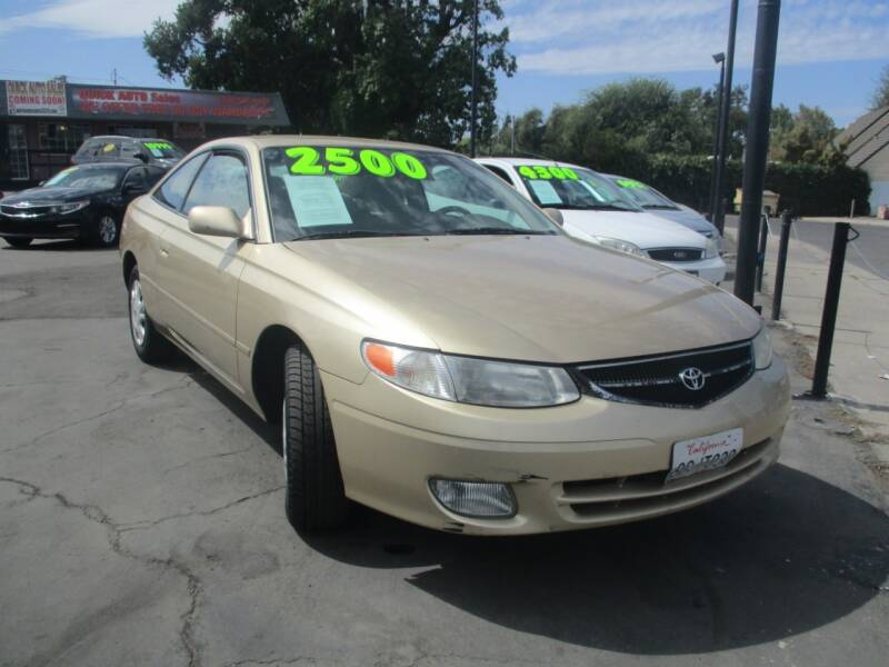 2001 Toyota Camry Solara for sale at Quick Auto Sales in Modesto CA