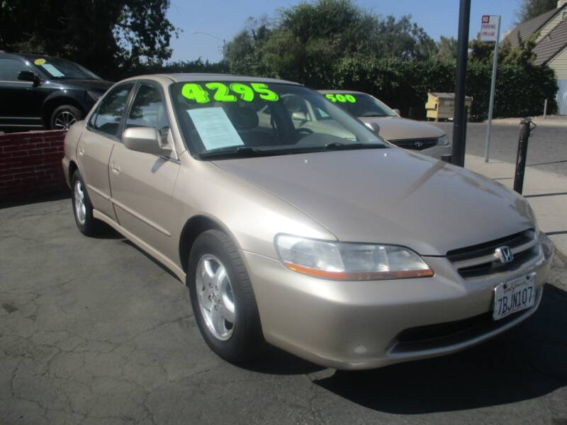 2000 Honda Accord for sale at Quick Auto Sales in Modesto CA