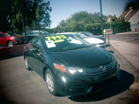 2015 Honda Civic for sale at Quick Auto Sales in Modesto CA