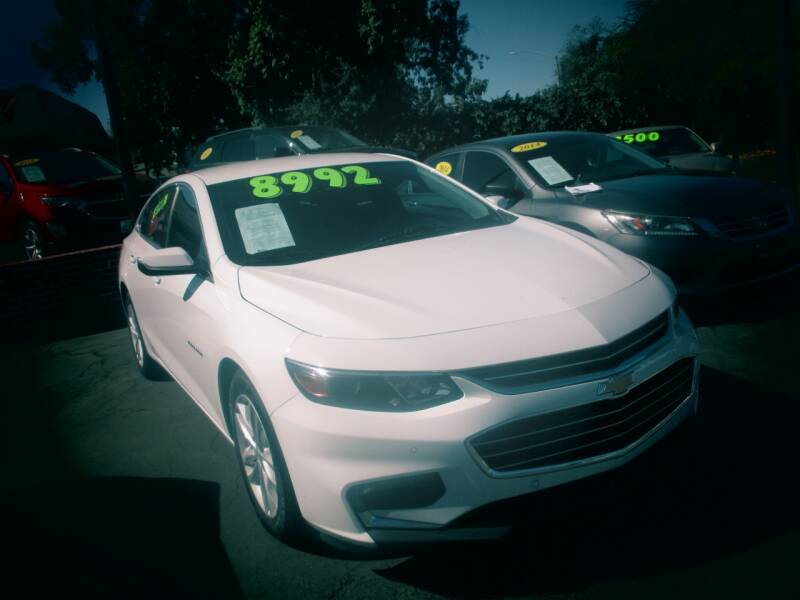 2017 Chevrolet Malibu for sale at Quick Auto Sales in Modesto CA