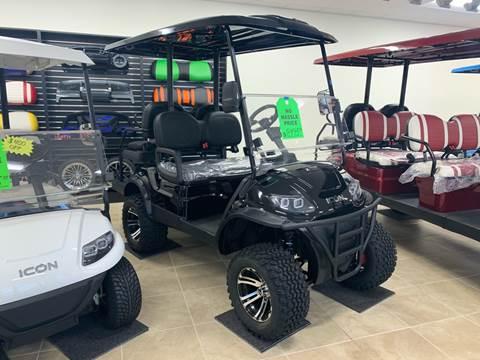 2020 ICON Golf Cart Street Legal I40L for sale at Jenkins Motorsports in Lakeland FL