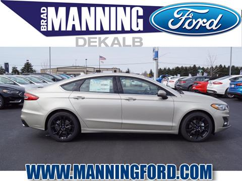 2019 Ford Fusion for sale in Dekalb, IL
