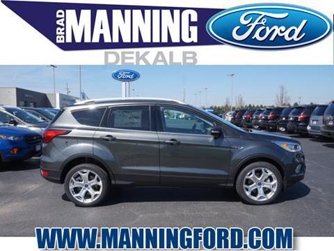 2019 Ford Escape for sale in Dekalb, IL