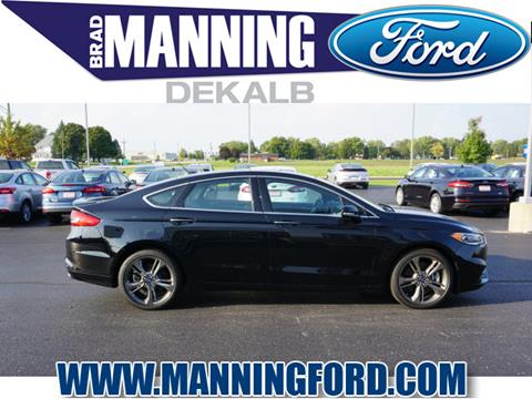 2017 Ford Fusion for sale in Dekalb, IL