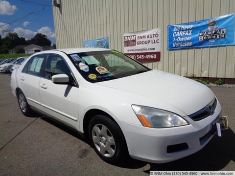 2006 Honda Accord for sale in Girard, OH