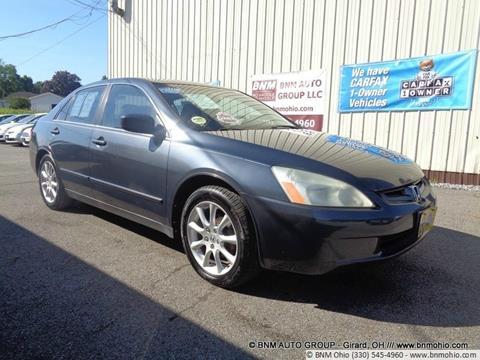 2003 Honda Accord for sale in Girard, OH