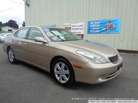 2005 Lexus ES 330 for sale in Girard, OH