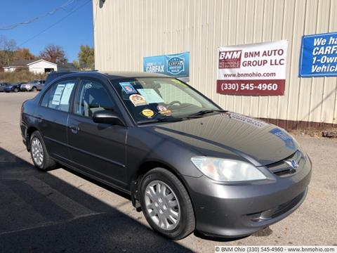 2004 Honda Civic for sale in Girard, OH